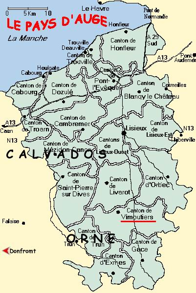 Calvados France Map.Apple Trees Cider And Calvados